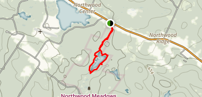 Northwood Meadows State Park Map