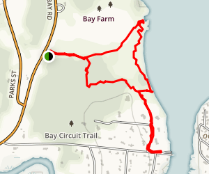 Bay Farm Conservation Area Map