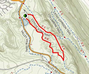 South Valley Park Trail Map