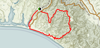 Point Reyes National Seashore Trail Map