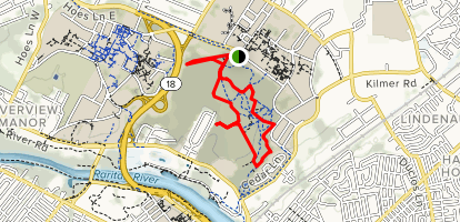 Rutgers Ecological Preserve Trails Map