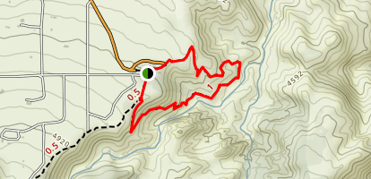 Devil's Punchbowl Loop Trail Map