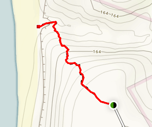 Sand Trap Canyon & Mottram Falls Map