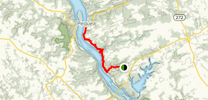 Conestoga Trail: Holtwood to Pequea Map
