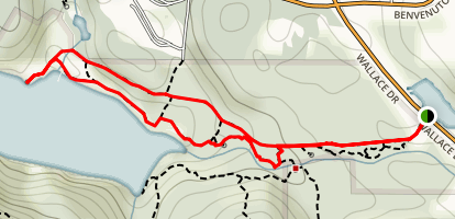 Tod Inlet Trail Map