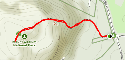 Mount Coolum Trail Map