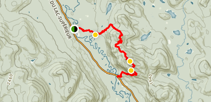 Centenaire Mont Tremblant Trail Map