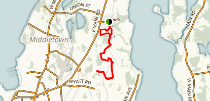 Sakonnet Greenway Trail Map