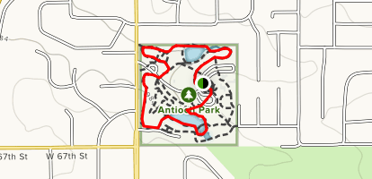 Antioch Park Trail Map
