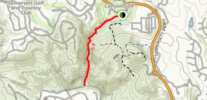 Silver Willow Trail Map