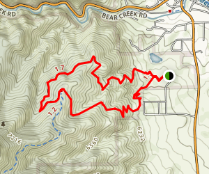 Turkey Trot Trail Map