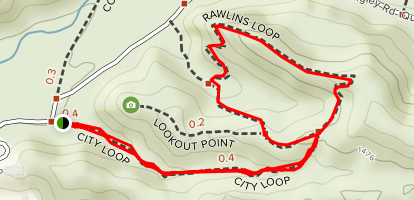 Quigley Canyon Open Space Trail Map
