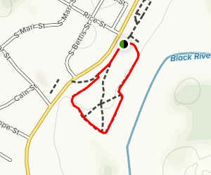 Black River Overlook Trail Map