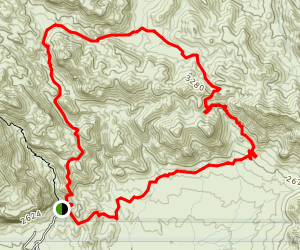 Fremont Saddle Trail Map
