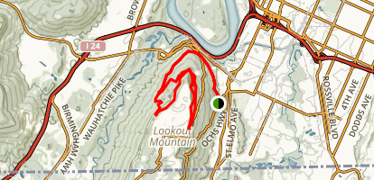 Guild Hardy Loop Trail Map