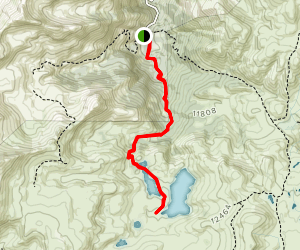 Highland Mary Lake Trail Map