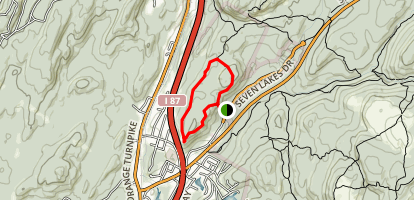 Dater Mountain Loop Trail Map