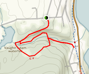 Vaughan's Woods (Hobbit Land) Trail Map