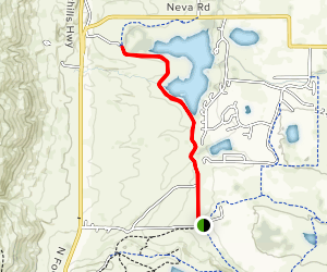 Left Hand Trail Map
