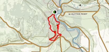 Deep Creek Loop Trail Map