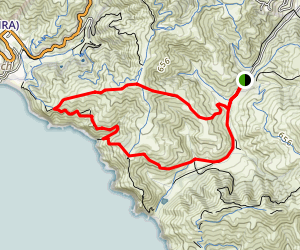 Tennessee Valley Golden Gate Loop Trail Map