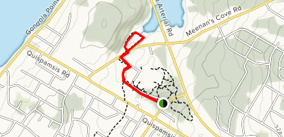 Matthew's Brook Trail Map