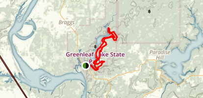 Greenleaf Trail  Map