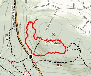 Beacon Hill Trail Map