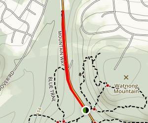Mountain Way Trail Map