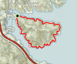 Bailey Cove Loop Trail Map