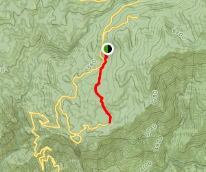 Huckleberry Meadow Trail Map