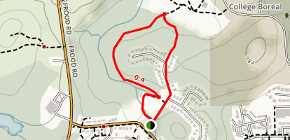 Selkirk Walking Loop Trail Map