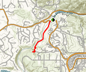 Santa Fe Valley Trail Map