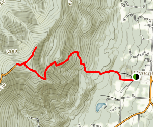 Mount Equinox Trail Map