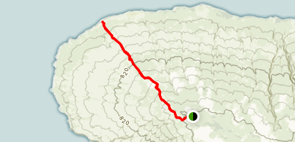 Polihua Trail Map