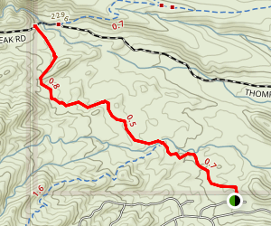 Dixie Mine Trail Map