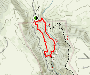 Castlewood Canyon State Park Loop Trail Map