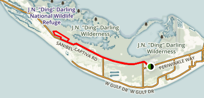 Sanibel Captiva Conservation Trail Map