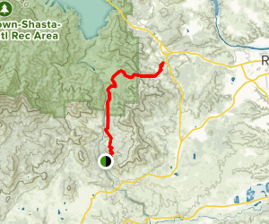 Mule Ridge Trail Map