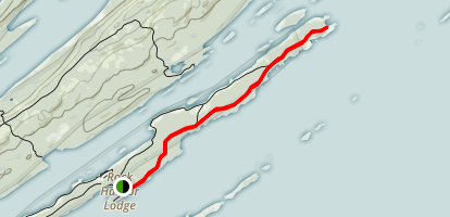 Stoll Trail Map