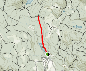 Spectacle Lake Trail Map