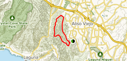 Wood Canyon Mathis Loop Trail Map