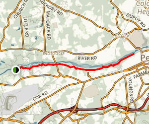 Appomattox River Trail Map