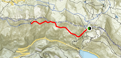 Viel dal Pan Trail Map