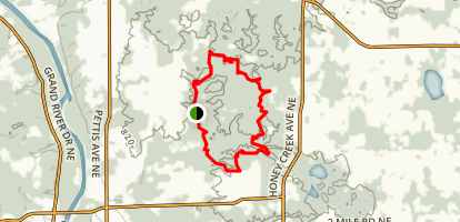 Egypt Valley Trail Map