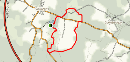Gailleres' Pond Loop Map