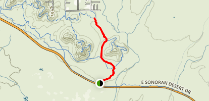 Apache Wash Trail Map