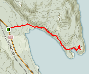 Ripple Rock Trail Map