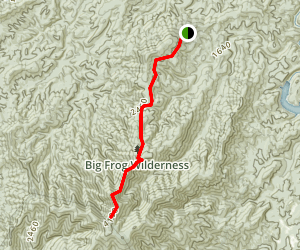Big Frog Trail Map
