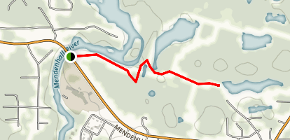 Dredge Lake Trail Map